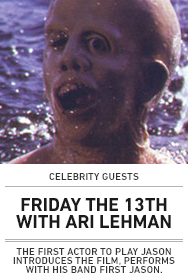 Poster: Friday the 13th with First Jason