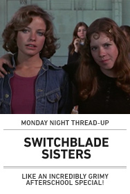 Poster: SWITCHBLADE SISTERS (NY)