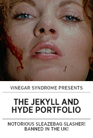 Poster: Vinegar Syndrome THE JEKYLL AND HYDE PORTFOLIO - 2015 upload
