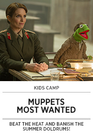 Poster: Kids Camp MUPPETS MOST WANTED - 2015 upload