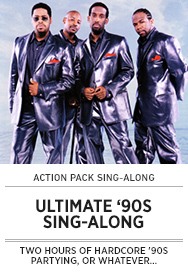 Poster: Ultimate 90s Sing-along - 2015 upload
