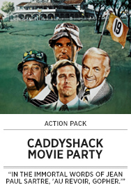 Poster: CADDYSHACK Movie Party - 2015 upload