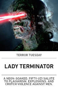 Poster: LADY TERMINATOR