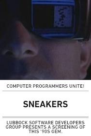 Poster: Sneakers (Lubbock)