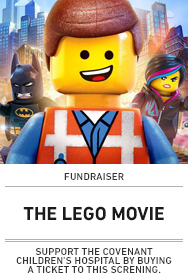 Poster: THE LEGO MOVIE FUNDRAISER