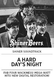 Poster: Shiner Soundtrack A HARD DAY'S NIGHT - 2015 upload