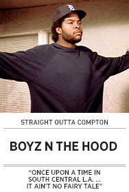 Poster: Straight Outta Compton - BOYZ N THE HOOD - 2015 upload