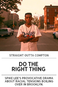 Poster: Straight Outta Compton - DO THE RIGHT THING - 2015 upload