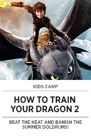 Poster: Kids Camp HOW TO TRAIN YOUR DRAGON 2 - 2015 upload