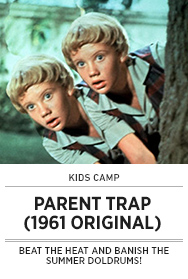 Poster: Kids Camp THE PARENT TRAP (1961)