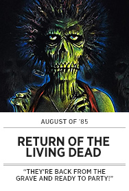 Poster: August of 85 - RETURN OF THE LIVING DEAD - 2015 upload