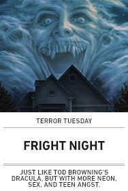 Poster: FRIGHT NIGHT - Terror Tuesday