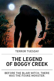 Poster: THE LEGEND OF BOGGY CREEK