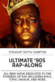 Poster: Ultimate 90s Rap-Along - 2015 upload