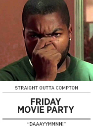 Poster: FRIDAY Movie Party - 2015 upload