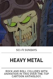 Poster: Heavy Metal Sci-Fi Sundays
