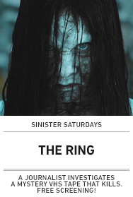Poster: The Ring (Sinister Saturdays)