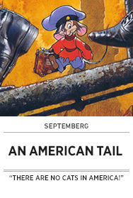 Poster: Septemberg AN AMERICAN TAIL - 2015 upload