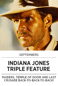 Poster: Septemberg INDIANA JONES Triple Feature - 2015 upload