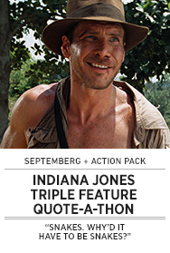 Poster: Septemberg INDIANA JONES Quote-A-Thon - 2015 upload