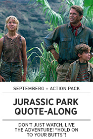 Poster: Septemberg JURASSIC PARK QAL - 2015 upload