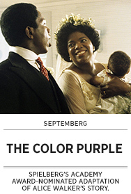 Poster: Septemberg THE COLOR PURPLE