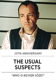Poster: THE USUAL SUSPECTS - 2015 upload