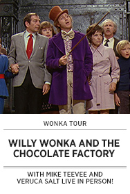 Poster: Wonka Tour WILLY WONKA AND THE CHOCOLATE FACTORY - 2015 upload