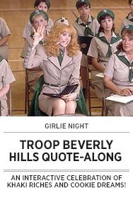 Poster: Girlie Night TROOP BEVERLY HILLS QAL - 2015 upload