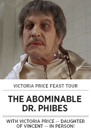 Poster: Victoria Price Feast ABOMINABLE DR. PHIBES