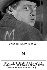 Poster: M (continuing education)