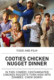 Poster: Cooties Chicken Nugget Dinner