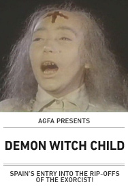 Poster: DEMON WITCH CHILD