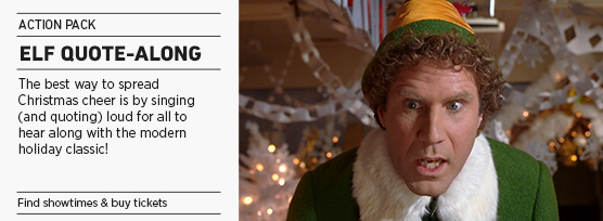Banner: Elf Quote-Along - 2013