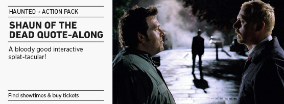 Banner: SHAUN OF THE DEAD Quote-along - 2014 Upload