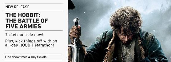 Battle of Five Armies and Hobbit Marathon