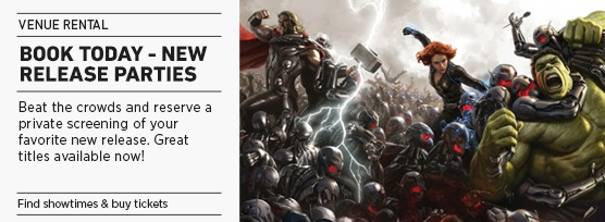 Banner: PCE New Release Party - Avengers (NY)