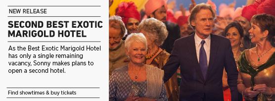 Banner: Second Best Exotic Marigold Hotel