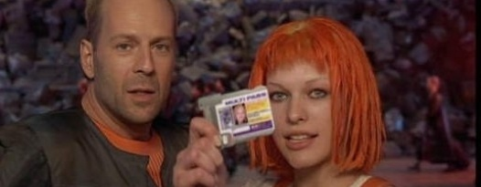 You won't need a multipass to attend this month's screenings of THE FIFTH ELEMENT