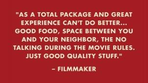 Client slide - filmmaker