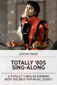 Poster: Totally '80s SAL - 2014
