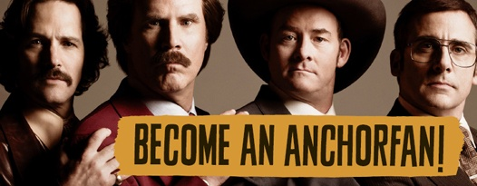 See Unlimited Showings of ANCHORMAN 2: THE LEGEND CONTINUES with the ANCHORFAN ticket