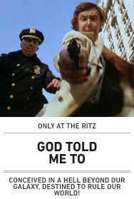 Poster: GOD TOLD ME TO