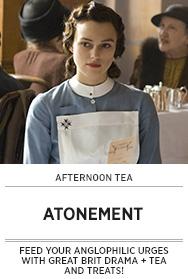 Poster: Afternoon Tea ATONEMENT - 2015 upload