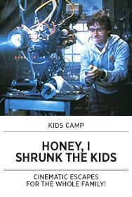 Poster: Kids Camp HONEY I SHRUNK THE KIDS - 2015 upload