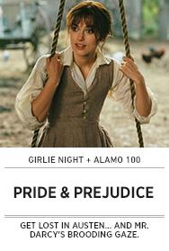 Poster: Girlie Night PRIDE & PREJUDICE - 2015 upload