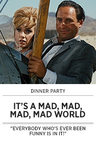 Poster: Dinner Party IT'S A MAD MAD MAD MAD WORLD - 2015 upload