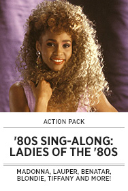 Poster: Totally 80s Sing-Along - Ladies of the 80s - 2015 upload
