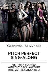 Poster: PITCH PERFECT Sing-Along - 2015 upload