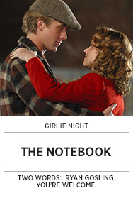 Poster: Girlie Night THE NOTEBOOK - 2015 upload